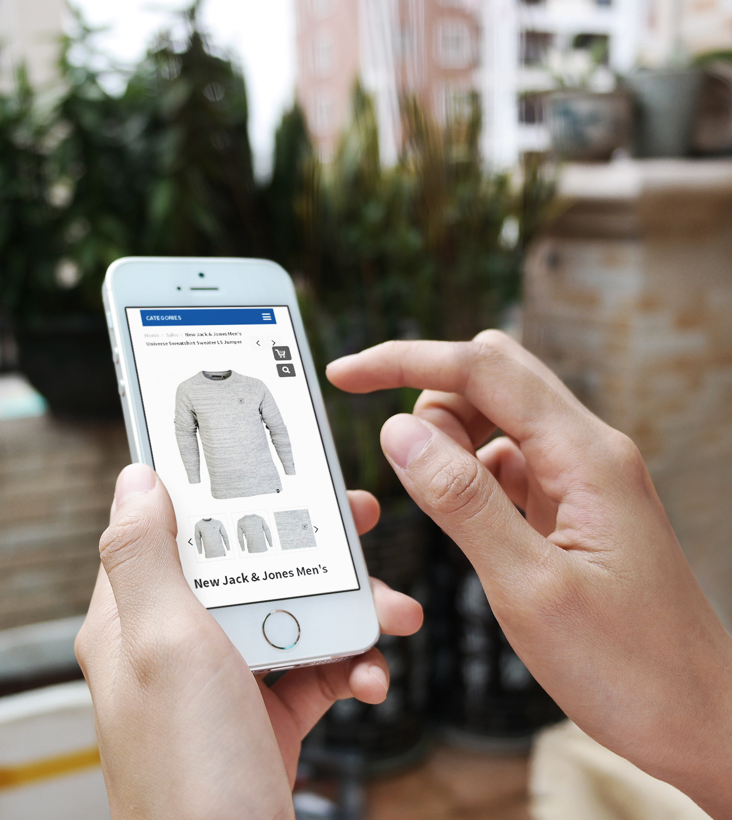 eBay Mobile Design