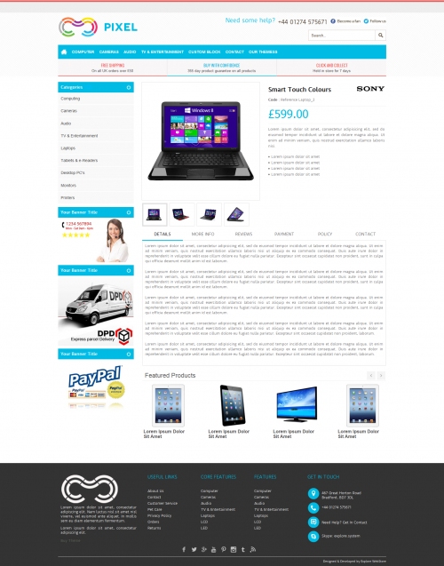 pixel-product-details-page